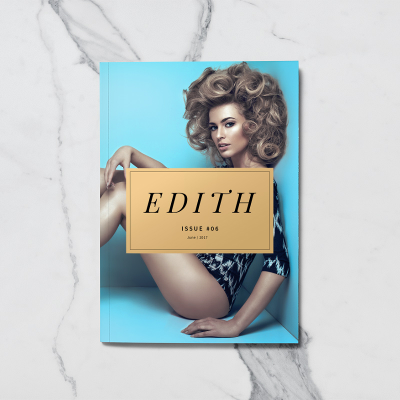 Edith A5 Magazine